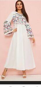 Girls White Maxi Dresses