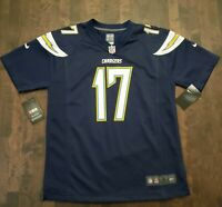 Nike NFL Los Angeles Chargers 17 Philip Rivers Game Jersey [Youth Size L]