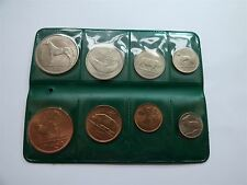 1966 Ireland 8 Coins Set Farthing Penny Threepence Sixpence Florin 1/2 Crown