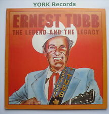 ERNEST TUBB - The Legend & The Legacy - Various - Excellent Con Double LP Record