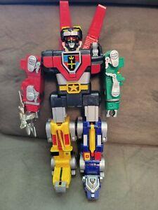 """Vintage VOLTRON Lion Force Figure 11"""" 1998 INCOMPLETE missing pieces"""