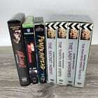 Lot of 7 VINTAGE Horror Movies VHS Evil Dead 2 Shining Pumkinhead Hitchcock picture