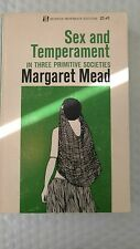 Paper Sex and Temperment by Margaret Mead (1971, Paperback)
