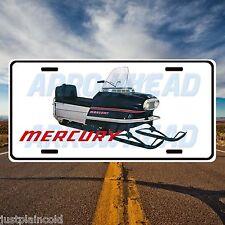 Mercury Vintage snowmobile style license plate