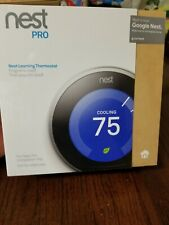 Nest T3008us Wifi Thermostat stainless, brand new sealed boxes