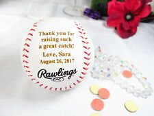 Personalized Baseball Thank You for Raising Man of my Dreams Father in Law Gift