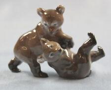 braunbär bär figur Rosenthal porzellanfigur Porzellan bear figurine bären 1957
