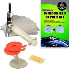 2 x Kit de reparación de parabrisas del Parabrisas Vidrio Auto grieta Hazlo tú mismo chip de pantalla de viento grieta