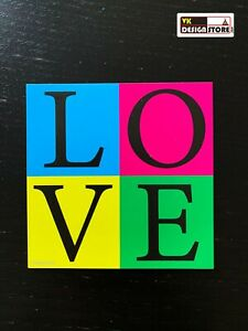 LOVE square magnet(s). Door / fridge / whiteboard magnet