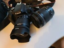 Starter photography kit - Canon EOS 750D w/ Canon EF-S 18-55mm & 10-18mm lenses