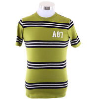 Aeropostale Men Short Sleeve Striped Graphic A87 T-Shirt Style 4948 $0 Free Ship