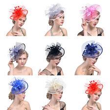 Large Headband Hat Fascinator Weddings Ladies Day Race Royal Ascot New