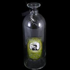 Clear Witches Brew Glass Bottle. Witchcraft. Spells. Halloween. Gothic Homeware