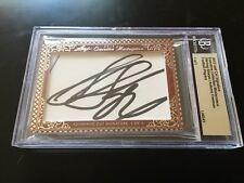 Sterling Sharpe & Antonio Freeman 2012 Leaf Masterpiece Cut Signature signed 1/1