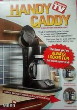 Handy Caddy Sliding Counter Tray for Coffee Machine Toaster Etc As Seen on Tv