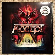 Accept - Stalingrad + 1 Bonus (Limited 180G Red 2LP in gatefold + Poster) NEW