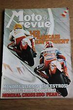 MOTO REVUE N°2321 GUZZI 250 HONDA CB 750 550 K3 FOUR BULTACO 125 FRONTERA 1977