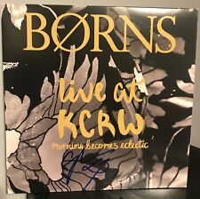 """Borns signed Live at KCRW Record Store Day 12"""" lp rsd"""