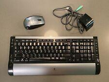 Logitech Cordless Desktop S510 Wireless Keyboard and Mouse Combo