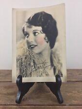 Antique Original 5X7 Exhibit Promo Movie Card Loretta Young Estate Photograph