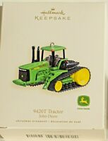 "2007 HALLMARK KEEPSAKE JOHN DEERE ""9420T TRACTOR"" ORNAMENT ~ NEW IN BOX"