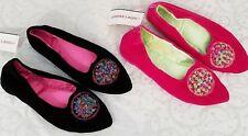 NWT Velvet Chinese Design Slippers