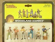 O scale JUG BAND Woodland Scenics Train People # 2743