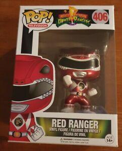 Funko Power Rangers #406 Red Ranger POP Vinyl Figure NEW