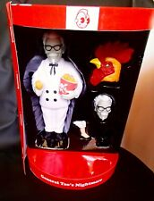 KIDROBOT General Tso's Nightmare VINYL Figure KFC Colonel Sanders Figure Sofubi