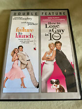 Failure to Launch How to Lose a Guy in 10 Days DVD 2-Disc Set Comedy Movies