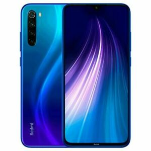 Xiaomi Redmi Note 8 - 64 Go - Neptune Blue (Désimlocké) (Double SIM)