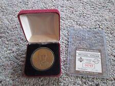 Michael Jordan Highland Mint Bronze Coin Limited Edition Chicago Bulls