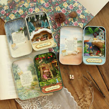 3 Sets DIY Mini Box Theatre Doll's House Miniature Furniture Kits Toy Gifts