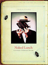 DVD: Naked Lunch (The Criterion Collection), David Cronenberg. Good Cond.: Peter
