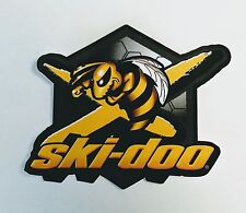 "SKI-DOO GENUINE BRP BEE DECAL SKI-DOO RACING MXZ SUMMIT X MACH Z TNT 5"" X 6"" NEW"