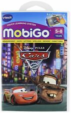 New Vtech Disney Cars 2 Pixar Mobigo Touch Learning Software Club House Sealed