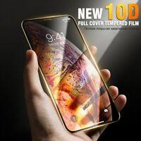 10D Protector de Pantalla Para IPHONE X XS Max XR 7 8 Más 11 Pro Vidrio Templado
