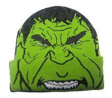 Berretta Hulk Avengers Age of Ultron Junior Beanie Winter Hat ufficiale Marvel