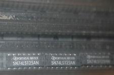 TEXAS INSTRUMENTS SN74LS125AN 14-Pin Dip Integrated Circuit 74LS125 Quantity-10