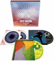 NICK MASON Unattended Luggage 2018 remastered 3-CD box set NEW/SEALED Pink Floyd