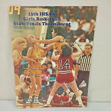 13th IHSAA Girls Basketball State Finals Basketball Program 1988 Noblesville