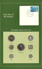 {BJSTAMPS} Coin Sets of All Nations Netherlands Antilles 1982-1985 BU