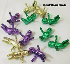 12 Mardi Gras Purple Green Gold King Cake Babies Baby