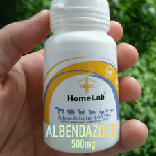 100 tablets Albendahelm 500 Dewormer For Dogs Anthelmintic Panacur Tapeworm
