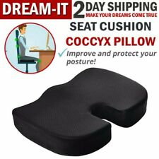 Office Chair Coccyx Cushion Orthopedic Car Seat Pillow Tailbone Memory Foam Pad-