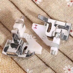 Snap On Blind Hem Sewing Machine Presser Foot Metal Edge Stitching Embellishing