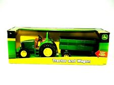 John Deere Tractor and Wagon Toy- Perfect for Outdoors!