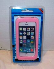Waterproof Case for Iphone 4 4s 5 5s Pink