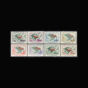 Algeria, Sc #296-303, MNH, 1963, Flag, Rifle, Olive Branch, A5SGGGcx
