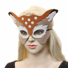 Half Face Props eyeMask animal cosplay mask for girl and boy Masquerade Costume